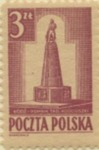 Polish Stamp Commemorating the Liberation of Lodz
