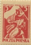 Polish Stamp Commemorating the Liberation of Warsaw
