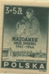 Polish Stamp Commemorating Majdanek Death Camp