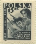Warsaw Ghetto Uprising Commemorative Stamp