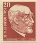 Leo Baeck Commemorative Stamp