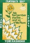 Israeli Holocaust Memorial Day Sticker