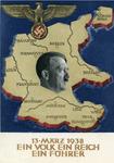 """""""Ein Volk Ein reich Ein Führer"""" Postcard"""