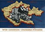 """""""Wir Danken Uunsern Führer"""" Postcard"""