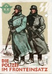 Day of German Police Commemorative Postcard