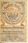 Bank Notes from the Austrian Anti-Semitic Bund