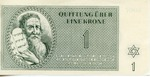 Currency Notes from Theresienstadt