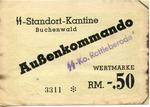 Buchenwald Lagergeld Money