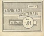 Lagergeld from Mittelbau-Dora
