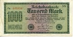 Reichmark Currency Notes