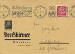 Envelope with Anti-Semitic Stamp