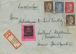 Envelope with Anti-Semitic Stamp