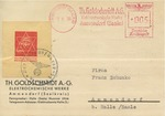 Telegram with Anti-Semitic Stamp
