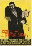 "Postcard for ""The Eternal Jew"" Anti-Semitic Exhibition, Vienna, 1938"