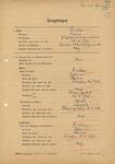 German Ancestry Questionnaire