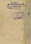 Provisional ID for Civilian Internee of Buchenwald Jacob Machat