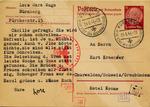 Postcard from Jewish Widow in Nuremberg