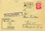 Correspondence from Buchenwald Inmate