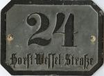 Horst Wessel Dachau Street Sign