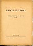 Maladie de Famine