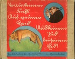 "Anti-Semitic Childrens Book Published by Julius Streicher:""Trau keinem Fuchs auf grüner Heid und keinem Jud auf seinem"" [Trust No Fox on his Green Heath and No Jew on his Oath]"
