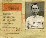 Identification for Katarzyna Kopala, a Polish Forced Laborer for HASAG in Leipzig, Germany