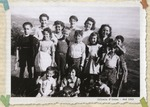 Real-Photo Postcards of Children of Izieu from Maison d'Izieu