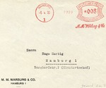 M.M. Warburg and Company Envelope