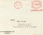 M.M. Warburg and Company Envelope