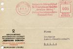 """Reichswerke Hermann Goering"" Phoenix Letter with Goering Factory Stamp"