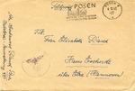 Feldpost from Posen