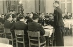 Real-Photo Postcard of Christmas Gathering of Wehrmacht Soldiers