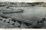 German Occupation of Guernsey, One of the Channel Islands, Postcard with British Bisect