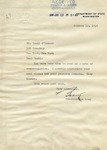 Breckenridge Long Signed Letter on U.S. Department of State Letterhead, with Embossed Crest
