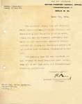 Letter Signed by British Hero Major Frank Foley