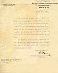Letter Signed by British Hero Major Frank Foley