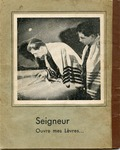 Seigneur Ouvre Mes Levres' [Lord Open My Lips, Psalms 51:15] Mimeographed Prayer Book in French and Hebrew