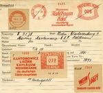 Francotyp Card Tracing History and Aryanization of Kantorowicz-Kahlbaum Liquor and Wine Firm During Third Reich