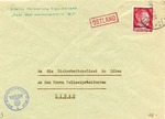 Riga Ghetto Postal Cover
