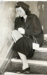 Jewish Woman Seeking Refuge from Nazi Menace