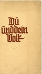 Du und Dein Volk [You and Your People]: Political and Racial Guide for Hitler Youth