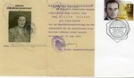 Commemorative Australian First Day Cover Featuring Raoul Wallenberg and Flora Hegedus