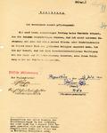 Aryan Racial Declaration by German Citizen