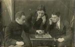 Three Chess Players