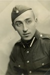 Jewish Soldier in Latvian Military Uniform