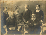 Family in Constantinople, Turkey