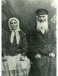 Elder Couple from the Ukrainian Shtetl of Trochenbrod (Zofiowka in Polish)