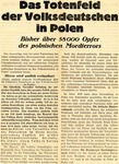German Propaganda Justifying Invasion of Poland