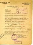 Invoice from the der Aelteste der Juden in Litzmannstadt