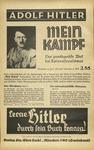 Mein Kampf Promotional Broadside